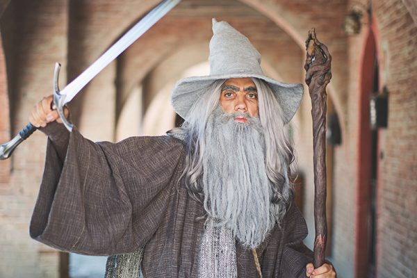 La Quarta Era - Grazzano Visconti - Narsilion - Il Signore degli Anelli - Gandalf