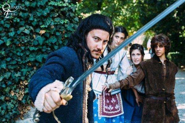 La Quarta Era - Grazzano Visconti - Narsilion - Lo Hobbit - Famiglia Bard Sigrid Tilda Bain
