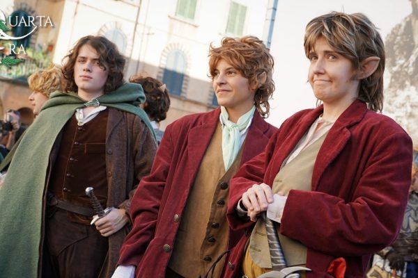 La Quarta Era - Lucca Comics 2016 - Il Signor degli Anelli - Lo Hobbit - Hobbit - Bilbo e Frodo Baggins