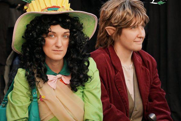 La Quarta Era - Lucca Comics 2016 - Il Signor degli Anelli - Lo Hobbit - Hobbit - Lobelia Sackville Baggins Bilbo Baggins