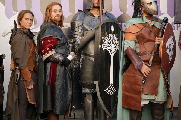 La Quarta Era - Lucca Comics 2016 - Il Signor degli Anelli - Lo Hobbit - Uomini - Gondor
