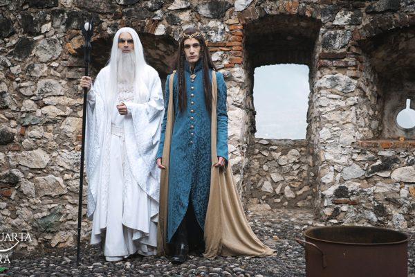 La Quarta Era - Castelpietra Fantasy Fest - Lotr - Lo Hobbit - Elrond e Saruman